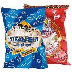 Packaging for frozen goods