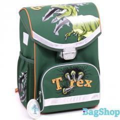 Зеленый ранец для школьника Kite