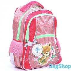 Школьный рюкзак из ткани с отливом Kite PO14-523K