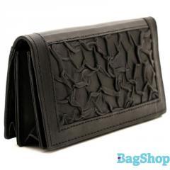 Бюджетный кожаный женский кошелек Swan 0084-04