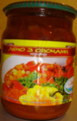 Letcho, tinned mixed vegetables