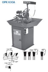 Machines for sharpening and the soldering of