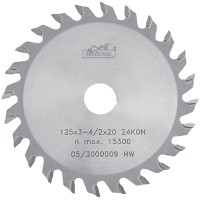 Circular saws with the cutting plates from