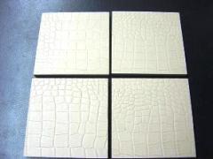 Плитка для пола кожаная, напольное покрытие из