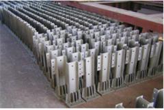 Racks for barrier of road barrier type