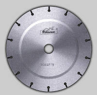 Cases for production of diamond circular saws
