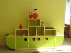 Стеллаж для детских садов