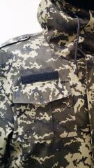 Suit winter camouflage Ukrainian army digital camouflage