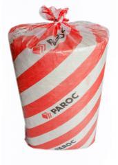 Mat heat-insulating on the basis of basalt PAROC