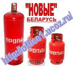 Propane gas cylinders Belarus