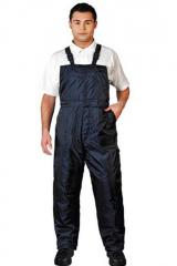 Semi-overalls dark blue Article 06004