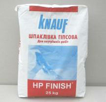 Knauf hard putty FINISH of HP