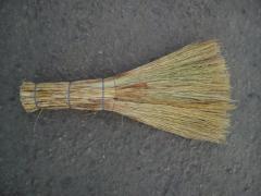 Broom of a sorghum