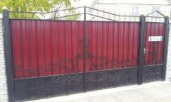 Кованые ворота, заборы, калитки