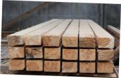 Рейка монтажная деревянная свежая - сосна