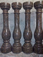 Granite rail-posts, rail-posts, production of