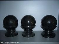 Spheres granite, a granite decor, products