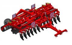 Агрегат почвообрабатывающий полунавесной АГМ-4,2 предназначен для основной и предпосевной обработки почвы под зерновые и технические культуры.