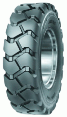 Tires all-cast for loaders