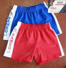 "Shorts voor Sambo ""Stels"" -professioneel"
