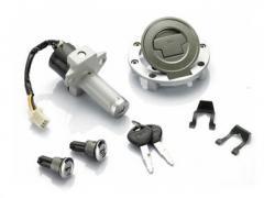 Личинка замка (под ключ)  комплект 4шт.+ключ Fiat