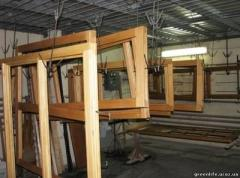 Windows and frames window wooden