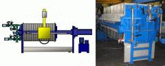 Filter presses of ChM63/30, ChM80/30, ChM100/30,