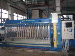 Filter press of a WC 25/40 - 800x800M for