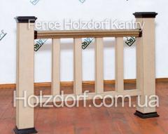 Декоративные ограждения из ДПК Holzdorf Kantry