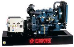 Дизельный генератор Europower EP73DE (открытый) /