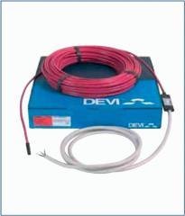Электрические кабельные теплые полы DEVI, Дания,
