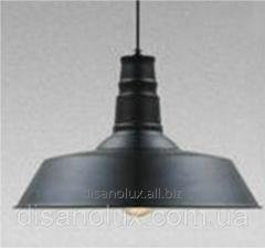 Светильник подвесной LOFT 7529520-1 BK Ф36см black