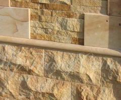 Песчаник: Камень бут, Блоки из песчаника. Продажа
