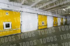 Retractable doors for the ULO KA RGS refrigerators