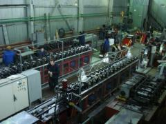 Automatic transfer line of rolling of holodnognuty