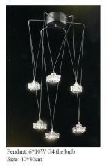 Светильник потолочный LED MD1022-6 G4 10W*6