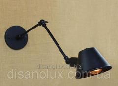 Светильник  настенный LOFT  DL 250 250x250 E27 черный
