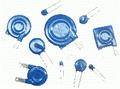 Varistors: FNR-, FRN-, JVR-, S-, VAR-, VCR-,