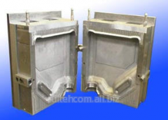 Compression molds are molding, blown, razduvny