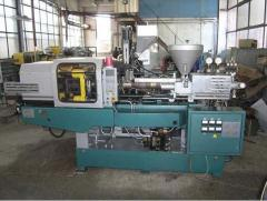 The automatic molding machine for two-color