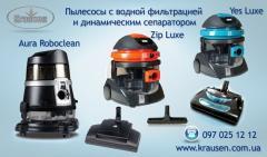 Пылесосы с водным фильтром и сепаратором  Krausen