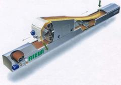 Belt conveyers for grain and other application