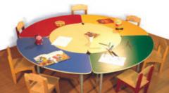 Столы обеденные для дошкольных учреждений