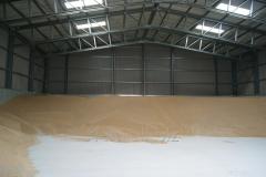 Напольные хранилища для зерна