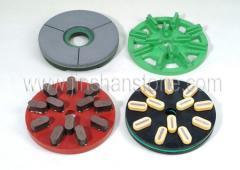 Disks for grinding and granite polishing