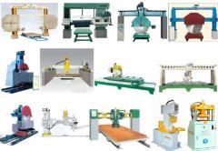 Kamneobrabatyvayushchy machines, equipmen