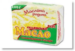 Масло сладкосливочное ГОСТ Селянське 200г