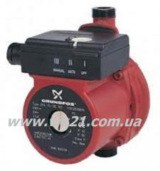 The pump for increase of pressure of Grundfos UPA