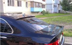 Бленда козырёк заднего стекла хонда аккорд Honda
