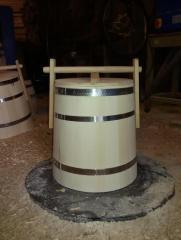 Кадка для меда 20 литров ,липовая кадушка для